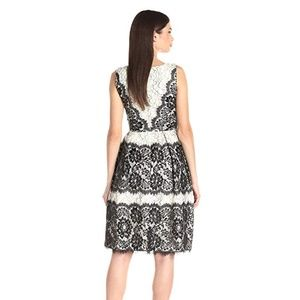 New Ivanka Trump Lace Flare Dress